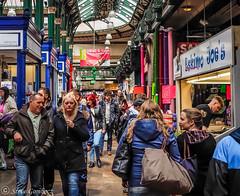 Colourful Leeds Market (steve.gombocz) Tags: street colour colours market leeds streetphotography olympus shops markt crowds marche streetphotos rynek markedet leedsmarket indoormarket marknad olympuscamera olympususers olympusdigitalcamerausers olympuscamerausers olympusstreet marketphotos olympusm25mmf18 olympusmzuiko25mmf18lens olympusem5mark2 micro43rdsuk