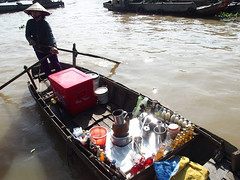 Coffee? (MarcelineAT93) Tags: travel river asia market floating vietnam mekong
