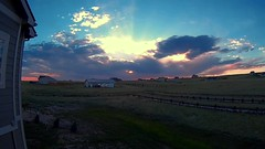 Sunset_070716_160x (northern_nights) Tags: sunset timelapse redsky clouds moon moonset