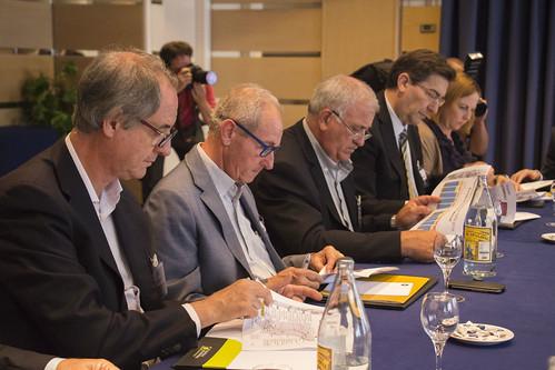 Reunión sobre el Corredor Mediterráneo. Valencia (08-07-2016)