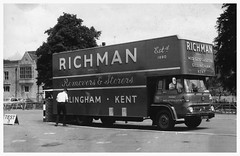 Fleet No14 EKJ537C (SemmyTrailer) Tags: ekj537c tk bedford lorry truck removals richman pantechnicon luton gillingham kent medway ldoy lockmeadow market maidstone