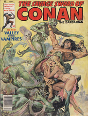 The Savage Sword of Conan 38 (micky the pixel) Tags: monster comics comic goddess marvel conan heft vampir barbarian stanlee roythomas thesavageswordofconan