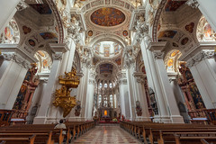 St. Stephan's Cathedral in Passau (Miroslav Petrasko (blog.hdrshooter.net)) Tags: camera travel windows church st digital canon germany lens photography eos photo blog high europe dynamic cathedral image details religion processing multiple imaging dslr range stephens hdr hdri passau decorated miroslav exposures bracketing photomatix tonemapped oltar photographyblog photoglog theodevil hdrshooter petrasko miroslavpetrasko hdrshooternet