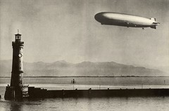 Graf Zeppelin over Lindau (lazzo51) Tags: aviation science blimps airships zeppelins luftschiff dirigibles grafzeppelin lz127