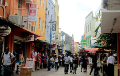 Bridgetown - Shopping Street (roger4336) Tags: ocean cruise shop shopping store atlantic barbados caribbean bridgetown swanstreet 2013