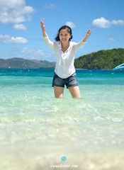 DSC_9934 (@SweetRiver) Tags: ocean vacation beach girl female philippines tropical coron
