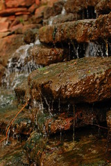 Cascading water (radargeek) Tags: park oklahoma garden waterfall okc ok willrogers