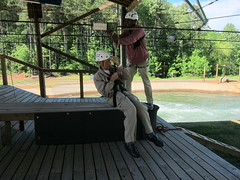 Grandpa on the Zip, Take 2 (Lilybeth29) Tags: wedding northcarolina usnwc grandpajohnruckh danandalisha