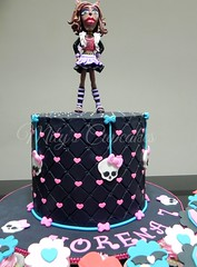 Monster High (Mily'sCupcakes) Tags: monster cake cupcakes high wolf buenosairesargentina clawdeen mily´scupcakes