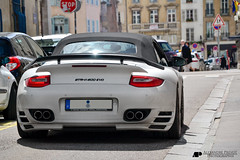 Porsche Speedart BTR-II 600 EVO Cabrio (Alexandre Prvot) Tags: auto france cars car sport automobile european parking transport automotive voiture route exotic turbo porsche nancy lorraine 54 supercar luxe berline exotics supercars cabriolet 997 ges 54000 dplacement worldcars porsche997turbocabriolet grandestsupercars