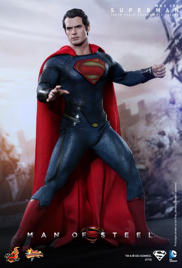 Hot Toys - MMS200 - 超人:鋼鐵英雄:1/6 比例 超人