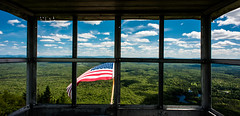 Out The Window II (Der_Krampus) Tags: mountain ny newyork nikon azure wilderness adirondack firetower adirondackmountains 20mmf28daf firetowerchallenge