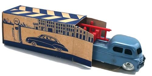 Lima autocarro con scatola