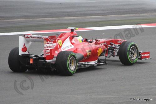 Felipe Massa in Free Practice 2 at the 2013 British Grand Prix