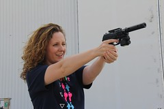 "Becky and the pistol • <a style=""font-size:0.8em;"" href=""http://www.flickr.com/photos/27717602@N03/9209779691/"" target=""_blank"">View on Flickr</a>"