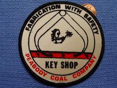 Peabody Coal Company, Key Shop, patch (Coalminer5) Tags: mining patch coal peabody miner coalmine miners coalminer miningequipment coalmining coalpatch peabodycoal miningartifacts peabodyenergy miningpatch coalmemorabilia coalcollectibles miningmemorabilia miningcollectible coalcollectible