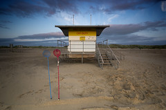 Safety Nets (MichaelCheckland ASN (Get back to you eventually ;) Tags: beach sand ainsdale lifesaver