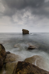 ROOST (Steve Boote..) Tags: longexposure sea cloud seascape storm rocks northumberland adobe northumbria northsea manfrotto seastack seatonsluice northeastengland nd64 06s sigma1020f456exdchsm hoyafilters leefilters ndgrads collywellbay 6stop canoneos7d 09s charleysgarden steveboote elements9 lightroom42
