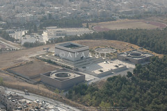 Amman Martyr Memorial (APAAME) Tags: flight1 flying2006 sportcity tomb digitalcamera aerialarchaeology aerialphotography middleeast airphoto archaeology ancienthistory