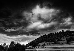 Gathering Storm (Mean Dorris) Tags: bw storm nature weather squall austria mission141 l3pfrbwclassic