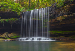 Caney Creek Falls (Ken Thomann Photography) Tags: longexposure nature water creek river rocks hiking alabama falls explore waterfalls caney canon1635mmf28lii canon5dmarkii
