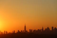 IMG_2905 (ShellyS) Tags: nyc newyorkcity sunset skyline manhattan skylines sunsets queens empirestatebuilding