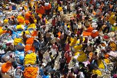 India - West Bengal - Kolkata - Mallick Ghat Flower Market - 2 (asienman) Tags: india kolkata calcutta westbengal asienmanphotography