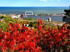 A Cityscape Of Duluth Minnesota. (C) (Warren Erickson 54880) Tags: minnesota cityscape lakesuperior 2013 duluthminnesota warrenerickson areailliftbridge
