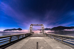 Porteau Cove (KyleMistry) Tags: canada fog night stars bc cove britishcolumbia provincialpark porteau