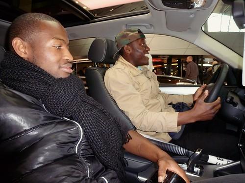 Avec Massa, BMW Welt, Münich