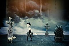 Halloween (Jacz Tse) Tags: life street travel autumn urban hk halloween canon square hongkong eos 50mm display bokeh cartoon lifestyle snap 50mm14 cinematic hongkongisland 2012 victoriaharbour halloweendisplay inmylife darkstyle 5dmarkii
