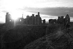 Slains Sunset BTS (robertpack84) Tags: sunset castle setup behind scenes bts slains