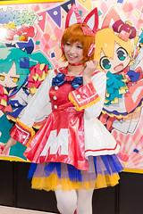 "MegaHobby Official Character ""Mega-chan"" -Mega Hobby EXPO 2013 Autumn (Akihabara, Tokyo, Japan) (t-mizo) Tags: portrait japan canon person tokyo costume cosplay sigma figure   akihabara cosplayer akiba figures lr chiyodaku lightroom   udx   sigma50mm chiyoda megahouse      costumeplay lr4 megachan housesan  akibasquare  sigma50 sigma5014 sigma50mmf14 sigma50mmf14exdghsm sigma50exdg sigma50mmf14exdg sigma50f14 eos60d sigma50mmhsm sigma50mmf14dgex lightroom4 megahobby  expo   expo2013 expo2013autumn megahobbyexpo2013japan"