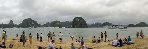 Ha Long Bay - The Beach