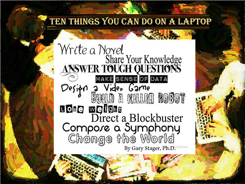 Ten Things You Can Do on a Laptop