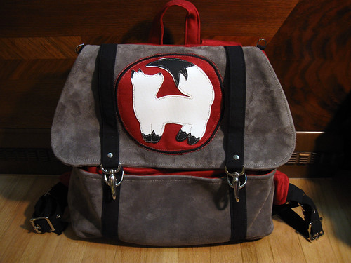 Vulpes familiaris Cooper backpack