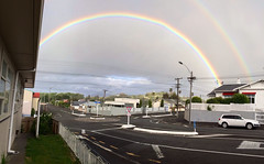 Double rainbow over my hood #NZ #iphone5S (D3 Photography) Tags: