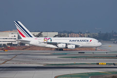 Air France Airbus A380-800 F-HPJI (jbp274) Tags: airport airplanes airbus a380 lax af airfrance 80years klax