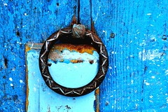door chefchouen (orendainauj) Tags: africa door blue morocco maroc marruecos moroccan chefchouen chouen