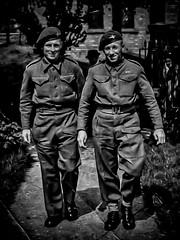 Old Days. 1944 (Captain Dibbles Pace Stick) Tags: war uniform para military arnhem 1944 parachute marketgarden