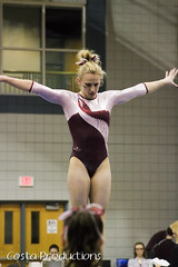 Stephanie repp - Beam (Erin Costa) Tags: ladies college tx kitty arena gymnast gymnastics lions tumble denton twu magee centenary lindenwood