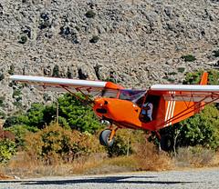 "Airborne - Tourist Flight - Pefkos - Rhodes (Greece)  (Olympus OMD EM5 & Panasonic ""G"" 35-100mm Telephoto lens) (markdbaynham) Tags: light greek four g aircraft flight hellas evil olympus panasonic greece grecia third local pefkos mirco rodos rhodes f28 omd csc dodecanese m43 mft pefki em5 35100mm mirrorless u43 m43rd"