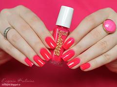 Layla Ceramic Effect №93 (So Laque!) Tags: pink swatch hands perfect polish blogger rings nails jewlery nailpolish layla nailart laquer naildesign manucure nailblogger polishblogger
