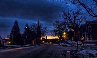 It's getting near Dawn-Decorah, Iowa
