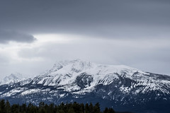 Somewhere between Vancouver and Edmonton (Buffalo Lucy) Tags: canada mountains nature rockies britishcolumbia stormy snowcapped alberta nikkor18 buffalolucy nikond3100