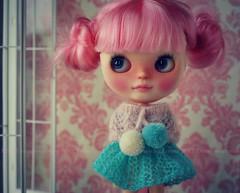 A Doll A Day. Apr 1. Shortcake des Fleurs.