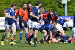 E4L05329 Amstelveen ARC v Cranleigh RFC (KevinScott.Org) Tags: england amsterdam rugby arc rc amstelveen 2014 kevinscott kevinscottorg cranleighrfc