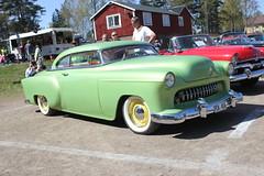 Chevrolet 1954 (Drontfarmaren) Tags: pictures show classic chevrolet car vintage spring gallery sweden cruising 1954 american custom bilder 2014 galleri nybro drontfarmaren