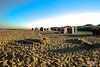 North Sea Beach (Mifipifi) Tags: beach nature strand digital deutschland sand wasser europa sony dune natur himmel northsea landschaft nordsee blauerhimmel kamera strandkorb düne küste strandsand cuxhafen sonydscw170