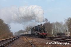48624-Charter-p2-28 (Steven Reid - Reid Photographic) Tags: heritage train smoke engine railway steam locomotive 280 lms greatcentralrailway gcr 8f stanier 48624 8fclass